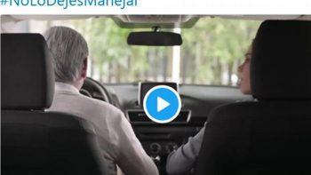 Difunden video sobre adultos mayores que ya no pueden manejar