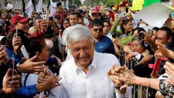Se desata trifulca en mitin de AMLO en Tantoyuca, Veracruz