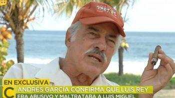 'Luisito Rey era abusivo', recuerda Andrés García