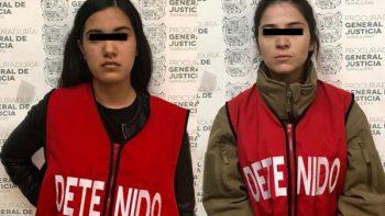 Detienen a dos presuntas asaltantes de joyería en Tamaulipas