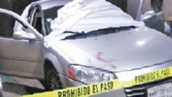 Conduce hasta urgencias herido y con tres cadáveres en Neza