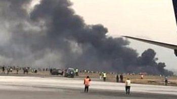 Se cae avión cubano con 100 pasajeros a bordo