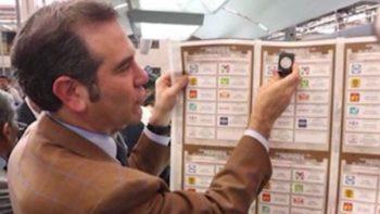 Inicia impresión de boletas para elección presidencial