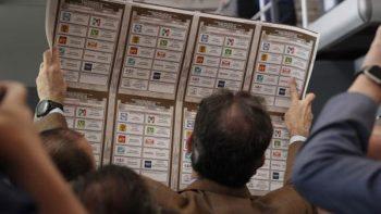 INE terminará de imprimir boletas presidenciales la próximo semana