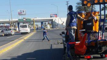 Previene PCyB a automovilistas para evitar congestionamiento vehicular