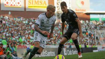 Santos hace valida opción de compra de Brian Lozano