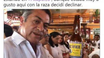 Tras anuncio de Margarita, 'El Bronco' bromea con declinación