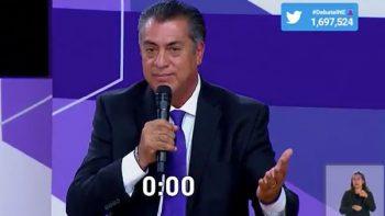 'El Bronco' pide abrazo a candidatos; AMLO llama Ricky Riquín a Anaya