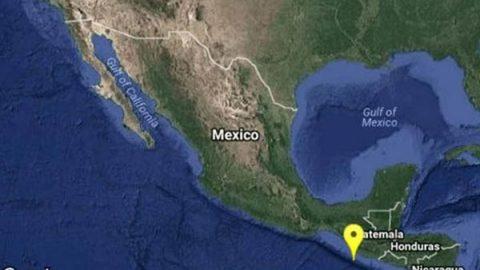 Se registra sismo de 4.7 de magnitud en Ciudad Hidalgo, Chiapas