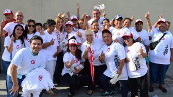 Realiza César Garza maratónica campaña por el voto de Apodaca