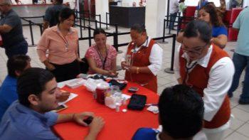 Área de Salud de COMAPA atiende a empleados y usuarios