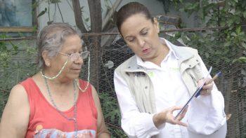 Atención especial para adultos mayores: Cristina Díaz