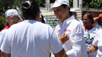 Promoveré créditos para mujeres de 45 mil pesos: Cristina Díaz