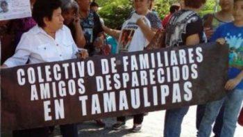 Piden medidas urgentes para acabar desaparición forzada en Tamaulipas