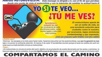 Lanzan campaña de educación vial en Reynosa
