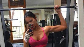 Eiza González sorprende con otra foto de sus músculos