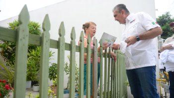 Va César Garza por un cambio hacia la cultura de paz y respeto en el hogar