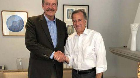 José Antonio Meade se reúne con Vicente Fox