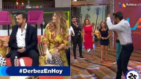 Eugenio Derbez va de Televisa a Azteca el mismo día