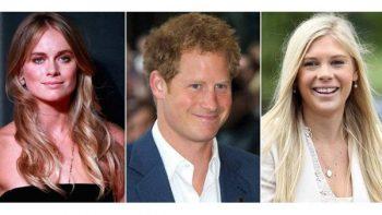 Las ex novias de Harry, sin rencores