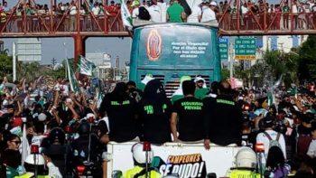 Motociclista arrolla a ocho durante festejos por campeonato de Santos