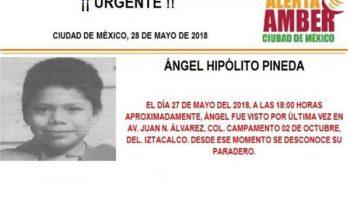Activan Alerta Amber para localizar a niño extraviado en Iztacalco
