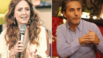 Andrea Legarreta y Raúl Araiza 'se pelean' en vivo