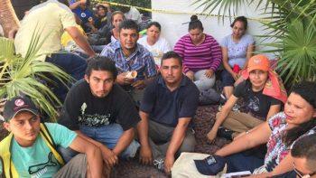 Con huelga de hambre, 15 centroamericanos exigen visas humanitarias