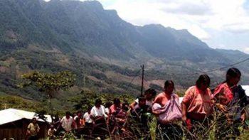 Disputa de tierras deja dos indígenas tzotziles muertos