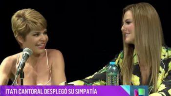 Itatí incomoda a Marjorie de Sousa con broma (VIDEO)