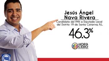 Aventaja Jesús Nava en preferencia en Distrito 19