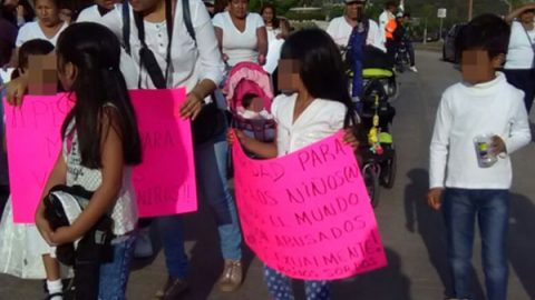 Exigen justicia para bebé agredida sexualmente en Oaxaca