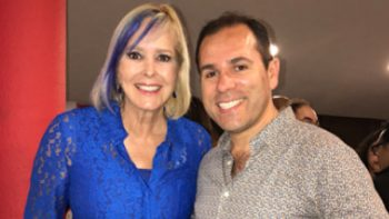 Margarita Gralia estrena cabello azul