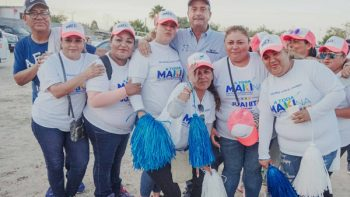 En la Margarita Maza de Juárez, Neto y candidatos de coalición, están ganados