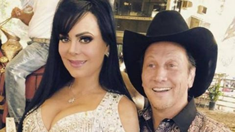 Maribel Guardia posa con Rob Schneider