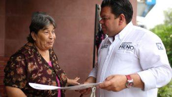 Informa Epigmenio Garza 'Meño' ejes de campaña