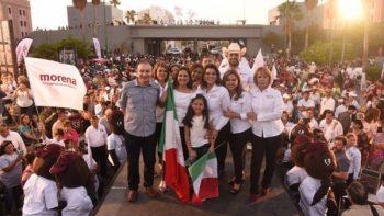 ¡Les vamos a partir su madre!, advierte candidata Sonora