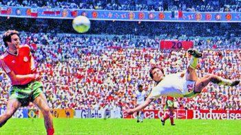Negrete, el 'mejor gol' en la historia de los Mundiales