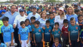 Deporte con apoyos sin precedentes, afirma Maki y Neto a atletas en Las Mitras