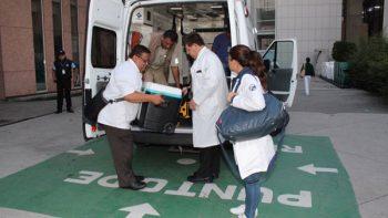 Trasladan corazón desde Querétaro a Centro Médico Nacional 'La Raza'