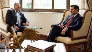Reconoce Enrique Peña Nieto a empresa química estadounidense