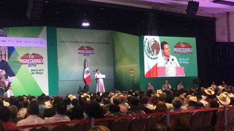 Se despide Enrique Peña Nieto de Nuevo León