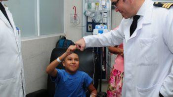 Colocan con éxito placa de titanio en cráneo de niño herido el 19-S