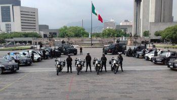 Reconocen a policías de Nuevo León por alto desempeño