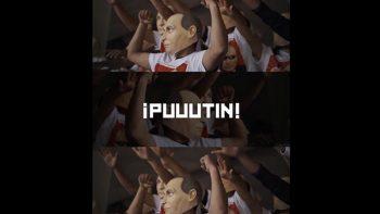 Cerveza usa imagen de Putin para evitar polémico grito en estadios
