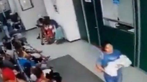 Captan rapto de recién nacida en hospital de Acapulco, Guerrero