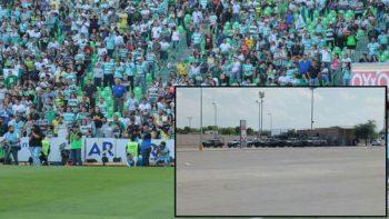 Mil 500 policías para la final Santos vs Toluca