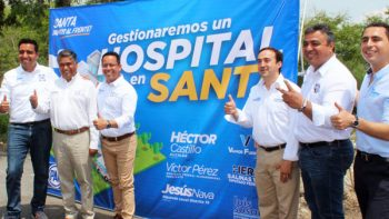 Candidatos del PAN gestionarán recursos para Hospital de Alta Especialidad en Santa Catarina