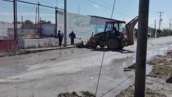 Servicios Públicos Primarios despliega cuadrillas de bacheo