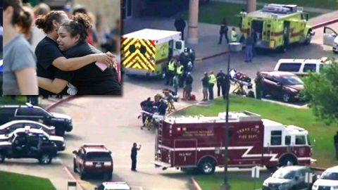 Tiroteo en secundaria de Texas deja 10 muertos y varios heridos